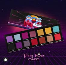 Pinky Rose Cosmetics 80'S BABY EYE SHADOW PALETTE