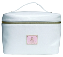 Jeffee Star Cosmetics White Glitter Travel Bag