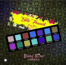 Pinky Rose Cosmetics Exotic Peacock Eyeshadow Palette