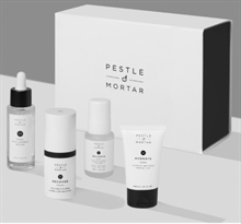PESTLE & MORTAR Skincare Heroes set m. full size serum & øjencreme