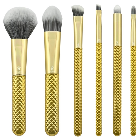 MODA Brushes - Metallic 7PC Total Face Flip Kit - Gold
