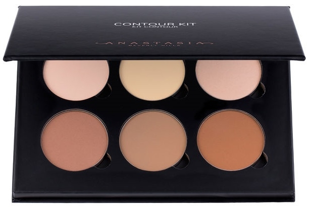 Anastasia Beverly Hills CONTOUR KIT - Light to Medium  &  Clear brow gel travel size