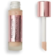Makeup Revolution Conceal & Define Foundation F5