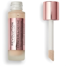Makeup Revolution Conceal & Define Foundation F6