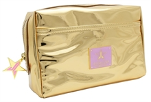 Jeffree Star Cosmetics Reflective Gold Makeup Bag