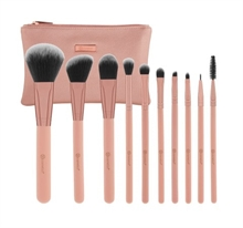 BH Cosmetics - Pretty in Pink - 10 Piece Brush Set with Cosmetic Bag