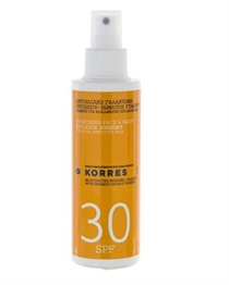 Korres Sun Body Yoghurt Spray SPF30 150 ml