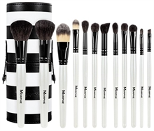 Morphe 12 PIECE BLACK AND WHITE SET 706