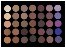 Crown Pro 35 Colour Purple Haze Eye Shadow Palette