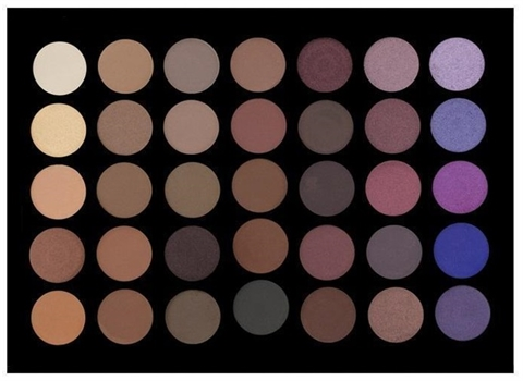 Image of   Crown Pro 35 Colour Purple Haze Eye Shadow Palette