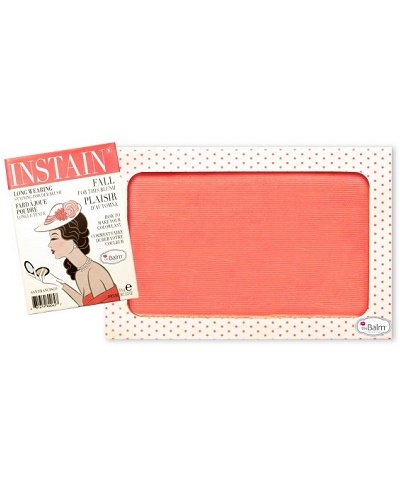 Image of   The Balm INSTAIN Long-Wearing Powder Staining Blush - Swiss Dot