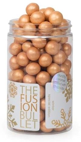 Image of   The FUSION Bullet Winter edition - solbær/lakrids og hvid chokolade 150g