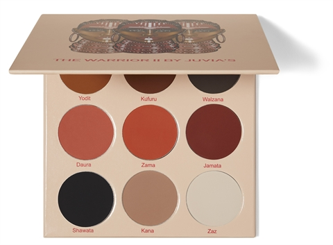 Juvia\'s Place The Warrior II  Eyeshadow Palette